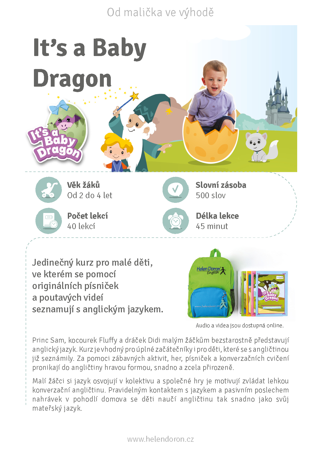 Download - It's a Baby Dragon (2 až 4 roky)